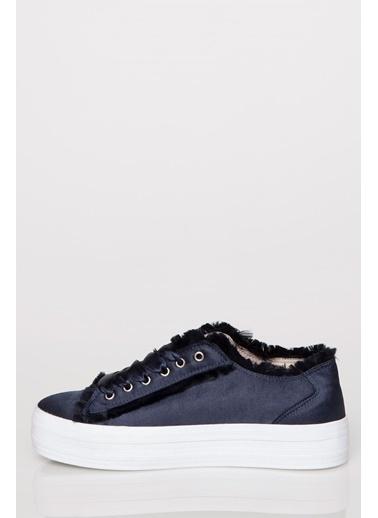 DeFacto Kalın Taban Sneaker Lacivert